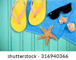 summer vacations. | Shutterstock . vector #316940366