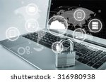 network security. | Shutterstock . vector #316980938