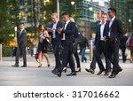 london  uk   7 september  2015  ... | Shutterstock . vector #317016662