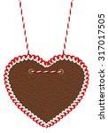 Empty Gingerbread Heart...