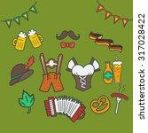 vector illustration of... | Shutterstock .eps vector #317028422