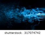 Movement Of  Smoke Abstract...