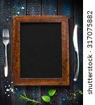 restaurant cafe menu  template...   Shutterstock . vector #317075882