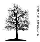 tree  vector  | Shutterstock .eps vector #3171028