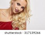 portrait of sexy woman | Shutterstock . vector #317139266