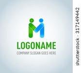 letter m logo icon design... | Shutterstock .eps vector #317149442