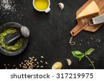 Green Basil Pesto   Italian...