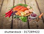 protein diet. | Shutterstock . vector #317289422