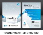 business brochure template....   Shutterstock .eps vector #317289482