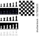 chess | Shutterstock .eps vector #317302655