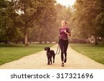 full length shot of a healthy... | Shutterstock . vector #317321696