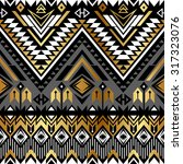 tribal navajo ornamental... | Shutterstock .eps vector #317323076