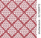 embroidered pattern on... | Shutterstock .eps vector #317330972