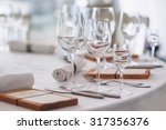 beautiful table set | Shutterstock . vector #317356376