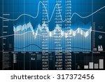 business statistics and...   Shutterstock . vector #317372456