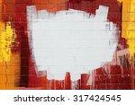 White Paint Stroke Copyspace O...