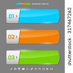 modern design template for... | Shutterstock .eps vector #317467262