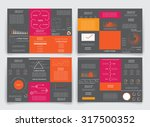 different infographic elements... | Shutterstock .eps vector #317500352