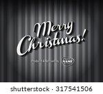 vintage style movie still  ... | Shutterstock .eps vector #317541506