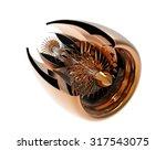 jet engine inside. high... | Shutterstock . vector #317543075