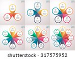 infographics step by step with... | Shutterstock .eps vector #317575952