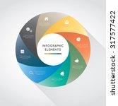 modern infographic for business ... | Shutterstock .eps vector #317577422
