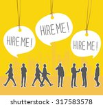 unemployment | Shutterstock .eps vector #317583578
