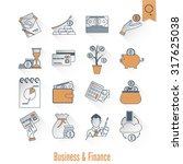 business and finance  flat icon ...   Shutterstock . vector #317625038