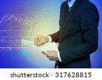 businessman analysis stock | Shutterstock . vector #317628815