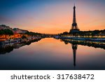 Sunrise Eiffel Tower Paris - Fine Art prints