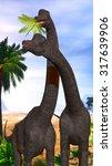 Постер, плакат: Brachiosaurus Dinosaurs Brachiosaurus