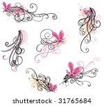 set of retro design elements | Shutterstock .eps vector #31765684
