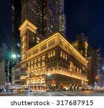 new york  usa on 5th sept 2015  ... | Shutterstock . vector #317687915