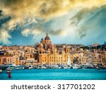 View On Birgu Coast From The...