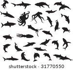 animals vectors vol_2 | Shutterstock .eps vector #31770550