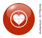 illustration of a crosshair... | Shutterstock .eps vector #317706146