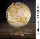 globe sphere.   Shutterstock . vector #317708042