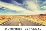 retro vintage old film style... | Shutterstock . vector #317723162