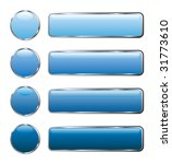 vector buttons for web and... | Shutterstock .eps vector #31773610