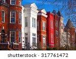 Row Houses Of Mount Vernon...