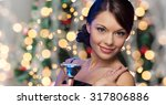 party  drinks  holidays  luxury ... | Shutterstock . vector #317806886