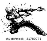 vector illustration of an urban ... | Shutterstock .eps vector #31780771