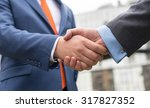 business confidence. close up... | Shutterstock . vector #317827352