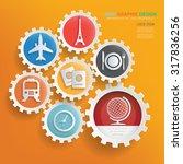 travel concept infographic...