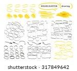 vector set of hand drawn doodle ...   Shutterstock .eps vector #317849642