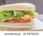 Meat  Lettuce   Cheese And Egg...