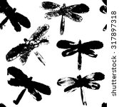 Painted Dragonfly Pattern