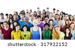 group students community... | Shutterstock . vector #317922152