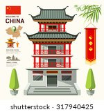 Vector Building Of China Travel ...