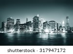 building skyscraper panoramic... | Shutterstock . vector #317947172